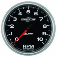 "Gauges - Oil Temp Gauges - Auto Meter - Auto Meter 5"" Sport-Comp II In-Dash Tachometer - 10,000 RPM"