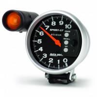 "Memory Tachometers - Pedestal Memory Tachs - Auto Meter - Auto Meter 10,000 RPM Sport-Comp 5"" Monster Tachometer"