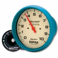 Standard Tachometers - In-Dash Standard Tachs - Auto Meter - Auto Meter 10,000 RPM Ultra-Nite In-Dash Memory Tachometer