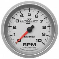 """Standard Tachometers - In-Dash Standard Tachs - Auto Meter - Auto Meter 3-3/8"""" Ultra-Lite II In-Dash Tachometer - 10,000 RPM"""