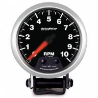 Tachometers - Shift Light Tachometers - Auto Meter - Auto Meter Elite Series Mini Monster Tachometer - 3-3/4 in.
