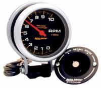 "Memory Tachometers - Pedestal Memory Tachs - Auto Meter - Auto Meter 10,000 RPM Pro-Comp Memory Tachometer - 3-3/4"""