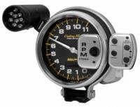 "Memory Tachometers - Pedestal Memory Tachs - Auto Meter - Auto Meter Carbon Fiber Pro Stock Tachometer - 5"""