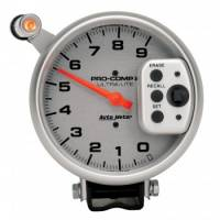 Memory Tachometers - Pedestal Memory Tachs - Auto Meter - Auto Meter 9,000 RPM Ultra-Lite Pro-Comp II Monster Tachometer - 5 - Single Range Tach
