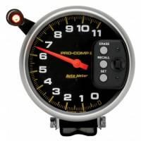 "Memory Tachometers - Pedestal Memory Tachs - Auto Meter - Auto Meter 11,000 RPM Pro-Comp II 5"" Single Range Tachometer"