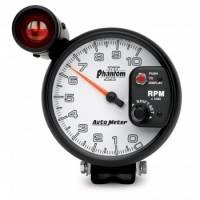 Tachometers - Shift Light Tachometers - Auto Meter - Auto Meter Phantom II Shift-Lite Tachometer - 5 in.