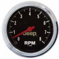 Standard Tachometers - In-Dash Standard Tachs - Auto Meter - Auto Meter 3-3/8 8000 RPM Tach - Jeep Series