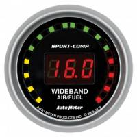Gauges - Digital Air / Fuel Ratio Gauges - Auto Meter - Auto Meter Sport-Comp Wide Band Air / Fuel Ratio Kit - 2-1/16 in.