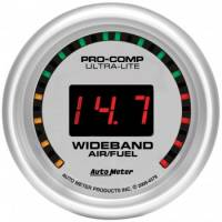 Gauges - Digital Air / Fuel Ratio Gauges - Auto Meter - Auto Meter Ultra-Lite Wide Band Air / Fuel Ratio Kit - 2-1/16 in.