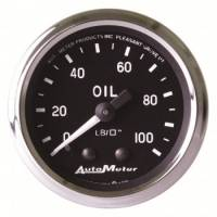 Oil Pressure Gauges - Mechanical Oil Pressure Gauges - Auto Meter - Auto Meter Cobra Mechanical Oil Pressure Gauge - 2-1/16""