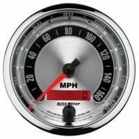 Analog Gauges - Speedometers - Auto Meter - Auto Meter American Muscle Speedometer - 3-3/8 in.
