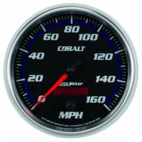 Speedometers - Electric Speedometers - Auto Meter - Auto Meter Cobalt Programmable Speedometer - 5 in.