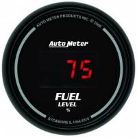 Gauges - Digital Fuel Pressure Gauges - Auto Meter - Auto Meter Sport-Comp Digital Programmable Fuel Level Gauge - 2-1/16 in.
