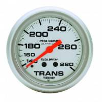 "Transmission Temp Gauges - Mechanical Transmission Temp Gauges - Auto Meter - Auto Meter Ultra-Lite Transmission Temperature Gauge - 2-5/8"" - 140°-280°"