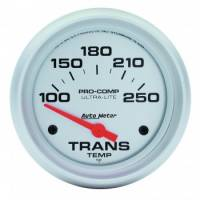 "Gauges - Transmission Temp Gauges - Auto Meter - Auto Meter Ultra-Lite Electric Transmission Temperature Gauge - 2-5/8"" - 100°-250° F"