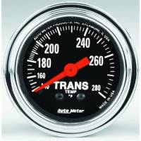 Transmission Temp Gauges - Mechanical Transmission Temp Gauges - Auto Meter - Auto Meter Traditional Chrome - Mechanical Transmission Temperature Gauge - 2-1/16 in.