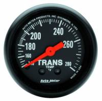 Transmission Temp Gauges - Mechanical Transmission Temp Gauges - Auto Meter - Auto Meter Z-Series Mechanical Transmission Temperature Gauge - 2-1/16 in.