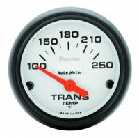 "Transmission Temp Gauges - Electric Transmission Temp Gauges - Auto Meter - Auto Meter Phantom Electric Transmission Temperature Gauge - 2-1/16"" - 100°-250°"