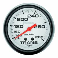 "Transmission Temp Gauges - Mechanical Transmission Temp Gauges - Auto Meter - Auto Meter Phantom Transmission Temperature Gauge - 2-5/8"" - 140°-280°"