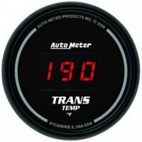 Gauges - Digital Transmission Temp Gauges - Auto Meter - Auto Meter Sport-Comp Digital Transmission Temperature Gauge - 2-1/16 in.