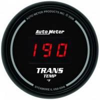 Digital Gauges - Digital Transmission Temperature Gauges - Auto Meter - Auto Meter Sport-Comp Digital Transmission Temperature Gauge - 2-1/16 in.