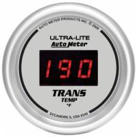 Gauges - Digital Transmission Temp Gauges - Auto Meter - Auto Meter Ultra-Lite Digital Transmission Temperature Gauge - 2-1/16 in.