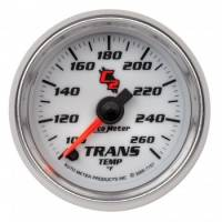 Analog Gauges - Transmission Temperature Gauges - Auto Meter - Auto Meter C2 Electric Transmission Temperature Gauge - 2-1/16""