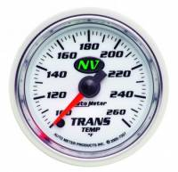 Transmission Temp Gauges - Electric Transmission Temp Gauges - Auto Meter - Auto Meter NV Electric Transmission Temperature Gauge - 2-1/16""