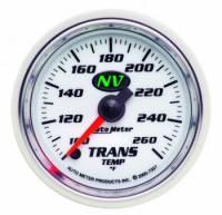 """Analog Gauges - Transmission Temperature Gauges - Auto Meter - Auto Meter NV Electric Transmission Temperature Gauge - 2-1/16"""""""