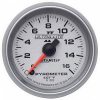 Analog Gauges - Exhaust Gas Temperature Gauges - Auto Meter - Auto Meter Ultra-Lite II Electric Pyrometer Gauge Kit - 2-1/16 in.