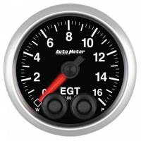 Analog Gauges - Exhaust Gas Temperature Gauges - Auto Meter - Auto Meter Elite Series Pyrometer/EGT - 2-1/16 in.