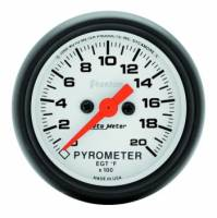 Analog Gauges - Exhaust Gas Temperature Gauges - Auto Meter - Auto Meter Phantom Electric Pyrometer Gauge - 2-1/16 in.