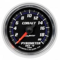 Gauges - Exhaust Gas Temp Gauges - Auto Meter - Auto Meter Cobalt Electric Pyrometer Gauge - 2-1/16 in.