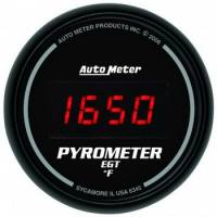 Gauges - Exhaust Gas Temp Gauges - Auto Meter - Auto Meter Sport-Comp Digital Pyrometer Gauge - 2-1/16 in.