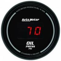Digital Gauges - Digital Oil Pressure Gauges - Auto Meter - Auto Meter Sport-Comp Digital Oil Pressure Gauge - 2-1/16 in.