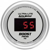 Digital Gauges - Digital Boost Gauges - Auto Meter - Auto Meter Ultra-Lite Digital Boost Gauge - 2-1/16 in.