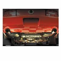 Flowtech Mufflers - Flowtech Terminator Mufflers - Flowtech - Flowtech Terminator™ Muffler System - 2005-09 Mustang w/ 4.6L (3-Valve)