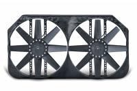 "Electric Fans - Flex-a-Lite Electric Fans - Flex-A-Lite - Flex-A-Lite Direct-Fit Dual Electric Fans - 1992-1999 Chevrolet Truck w/ 34"" Wide Radiator Core"
