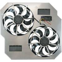 Truck & Offroad Performance - Flex-A-Lite - Flex-A-Lite Direct-fit dual electric fans - 2003-2009 Dodge Ram diesel