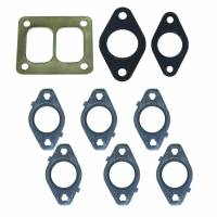 Exhaust System Gaskets and Seals - Exhaust Header and Manifold Gaskets - BD Diesel - BD Diesel Gasket Set, Exhaust Manifold w/T4 Flange - Dodge 6.7L 2007.5-2015