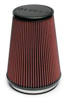 "Air Filter Elements - Conical Air Filters - Airaid - AIRAID Universal Air Filter - Conical - 6"" Flange I.D. - 7.25"" Base x 5"" Top x 9"" Height"