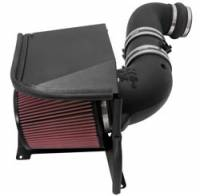 Air Intakes - Chevrolet / GM Air Intakes - K&N Filters - K&N 57 Series FIPK Air Intake System - 2011-14 Chevy/GMC 2500/3500 6.6L