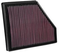 Chevrolet Camaro - Chevrolet Camaro (6th Gen 16-Up) - K&N Filters - K&N Performance Air Filter - 2016-17 Chevy Camaro SS 6.2L