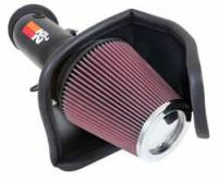 Dodge Challenger Air and Fuel - Dodge Challenger Air Cleaner Assemblies and Air Intake Kits - K&N Filters - K&N 69 Series Typhoon® Air Intake System - 2015-16 Dodge Challenger 6.2L