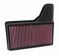 Ford Mustang - Ford Mustang (6th Gen 15-Up) - K&N Filters - K&N Performance Air Filter - 2015-17 Ford Mustang 2.3L/3.7L/5.0L