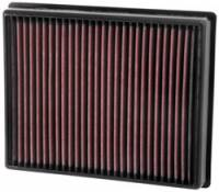 Street Performance USA - Ford Taurus - K&N Filters - K&N Performance Air Filter - 2013-17 Ford Fusion/Lincoln MKZ 1.5L/1.6L/2.0L/2.5L/2.7L/3.5L/3.7L