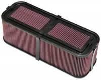 """Air Cleaners and Intakes - Air Box Assemblies - K&N Filters - K&N Carbon Fiber Sprint Car Air Box - Siamese Stack - 19"""" L x 7.5"""" W x 6-1/2"""" Tall"""