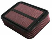 "Air Cleaners and Intakes - Air Box Assemblies - K&N Filters - K&N Carbon Fiber Sprint Car Airbox Filter (Only) - 18-7/8"" L x 13-3/4"" W x 4-1/8"" Tall"