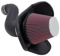Air Intakes - Dodge / Chrysler / Mopar Air Intakes - K&N Filters - K&N 57 Series FIPK Air Intake System - Mopar LC/LD/LX-Body 2005-10