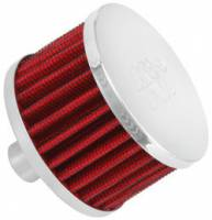 "Drivetrain - K&N Filters - K&N Steel Base Fuel Cell, Rear End Breather Vent Filter - 3/4"" Flange I.D."